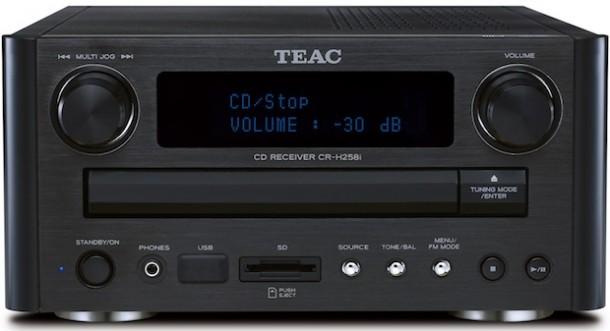 TEAC CR-H258i DAB/AM/FM CD Receiver - ecoustics.com