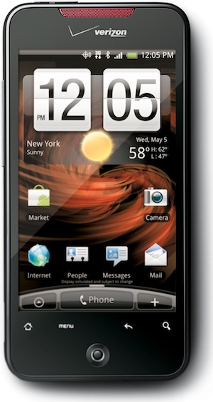 VERIZON WIRELESS DROID INCREDIBLE BY HTC