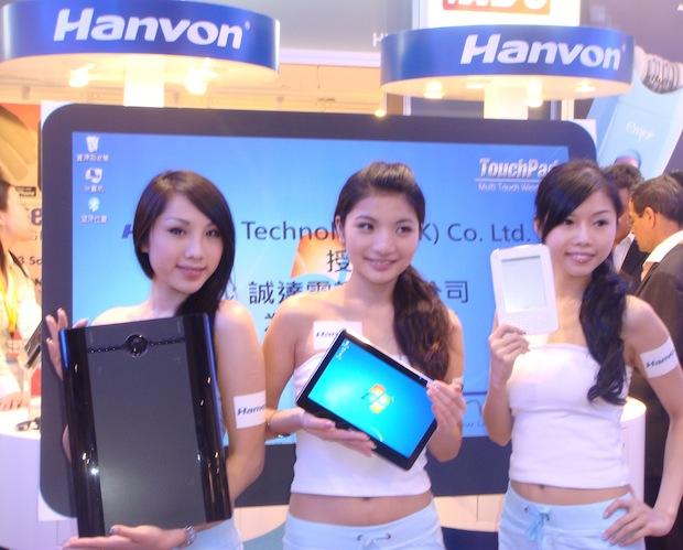 HANVON TABLET PC
