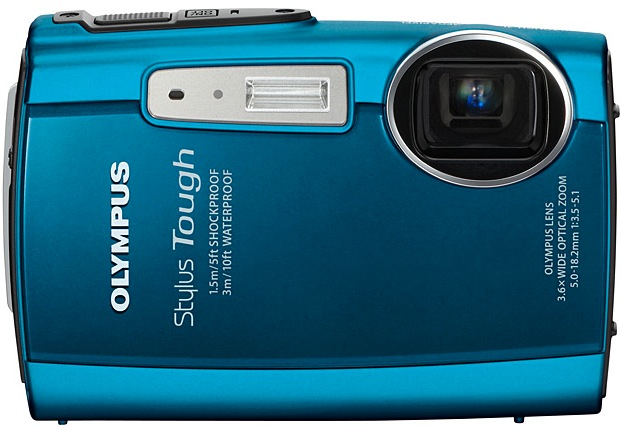 Olympus STYLUS TOUGH-3000 Waterproof Digital Camera - ecoustics.com