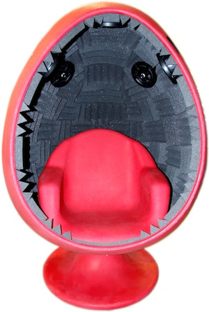 Acousticom Re Invents The 70u0027s Egg Chair