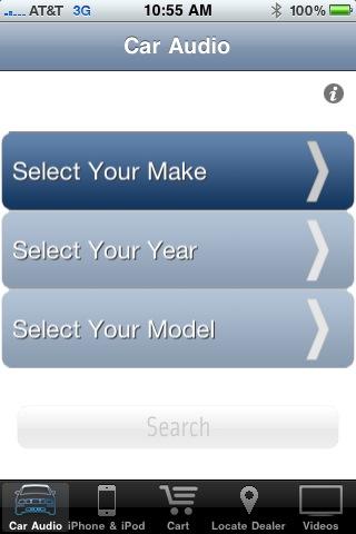 Scosche Car Audio iPhone App - ecoustics com