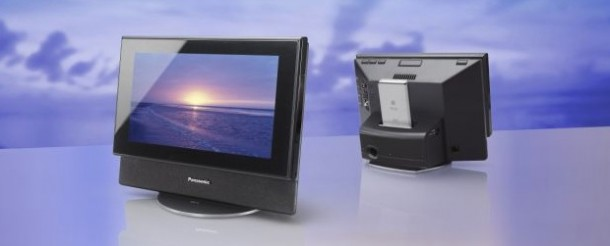 Panasonic Mw 10 Photo Frame And Audio System With Ipod