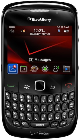 VERIZON WIRELESS BLACKBERRY CURVE 8530 SMARTPHONE