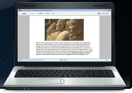 Amazon Kindle for PC Reader Application - ecoustics com