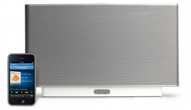 sonos zoneplayer s5 all in one wireless music system. Black Bedroom Furniture Sets. Home Design Ideas