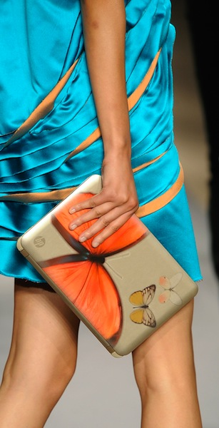 HP And Vivienne Tam Reveal Digital Clutch Design At New York Fashion Week