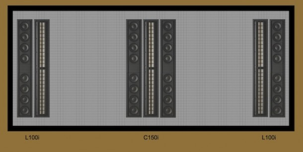 Wisdom Audio L100i and C150i Sage Series In-Wall Speakers