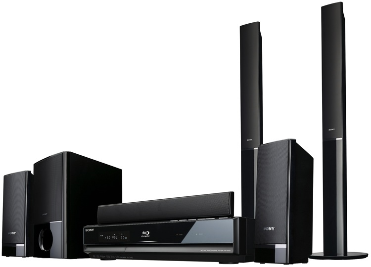 Sony Bdv E300 And Bdv E500w Blu Ray Home Theater Systems