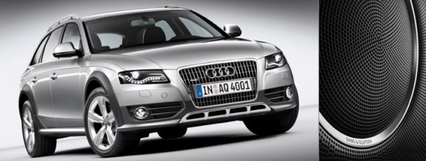 bang olufsen sound system for audi a4 allroad quattro. Black Bedroom Furniture Sets. Home Design Ideas