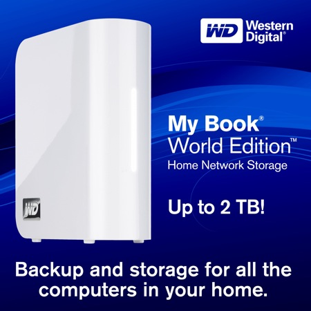 WESTERN DIGITAL BACK UP