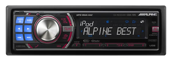 Alpine Cda-105 And Cde-102 Head Units