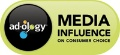 Adology Media Influence logo
