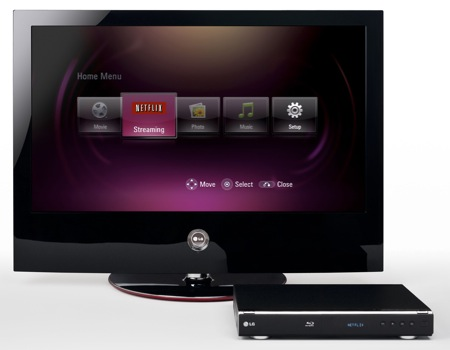 NETFLIX BLU-RAY DISC PLAYER