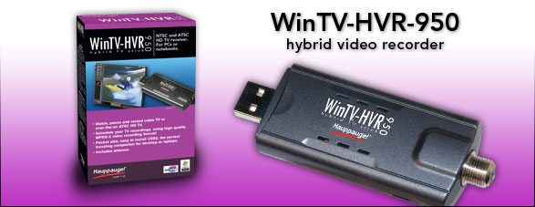 WINTV HVR 950 DRIVERS FOR WINDOWS MAC