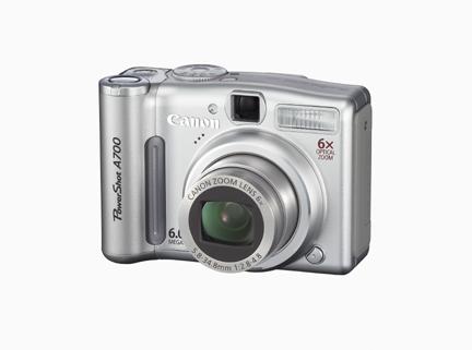canon powershot a700 a540 a530 and a430 digital cameras announced rh ecoustics com Canon PowerShot SX400 Canon Cameras