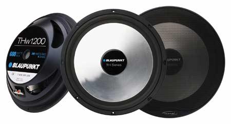 Set of 2 Blaupunkt 4 Way Coaxial Car Audio Speaker Blaupunk GTS655M 6.5 Inch 250W Slim Line