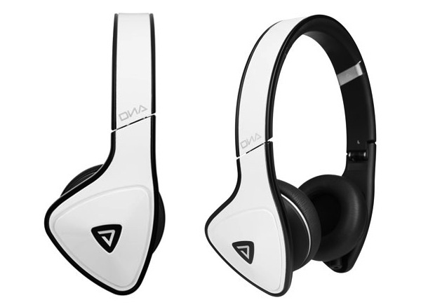 Monster DNA White Tuxedo Headphones