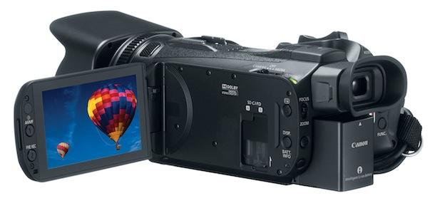 Canon VIXIA HF G30 Camcorder - back