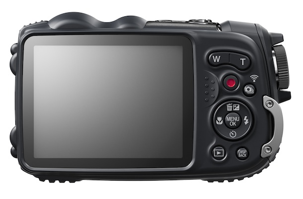 FujiFilm FinePix XP200 - back