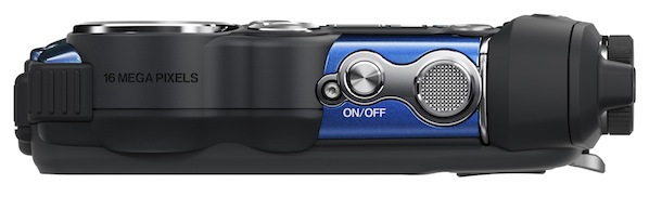 FujiFilm FinePix XP200 - top