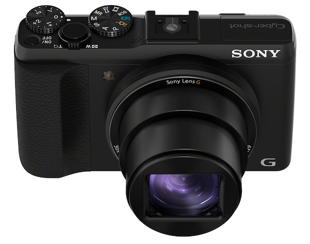 Sony Cyber-shot DSC-HX50V Digital Camera - top