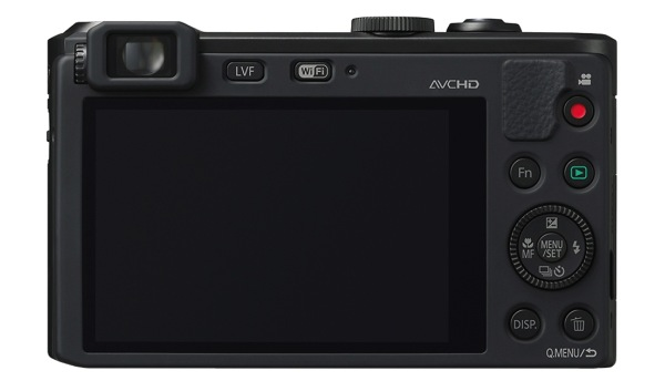 Panasonic LUMIX DMC-LF1 - back