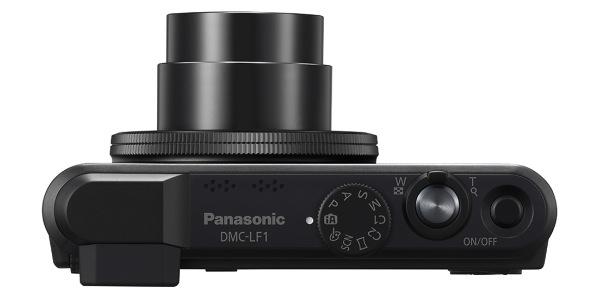 Panasonic LUMIX DMC-LF1 - top