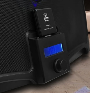 Pyle Audio BlueReach PBTR70 in dock