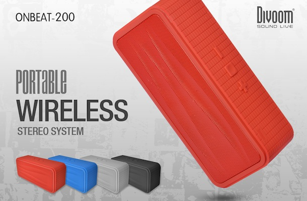 Divoom Onbeat-200 Bluetooth Speaker