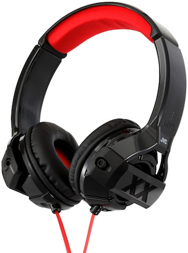 JVC HA-S44X On-Ear Headphones