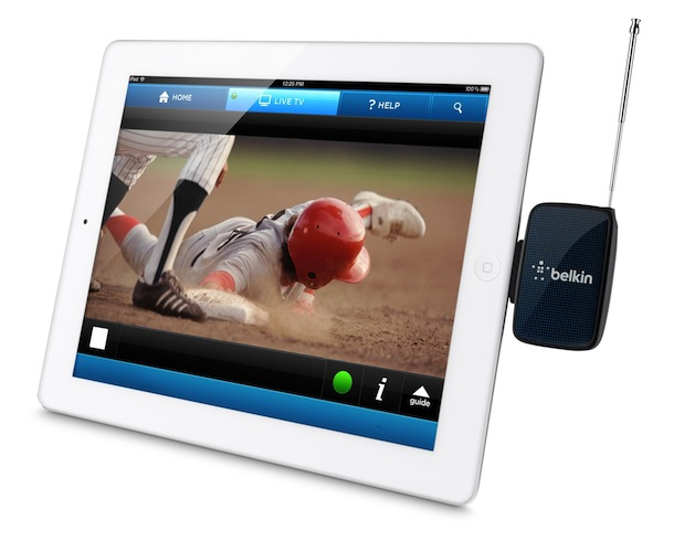 Belkin Mobile TV Receiver with iPad 3