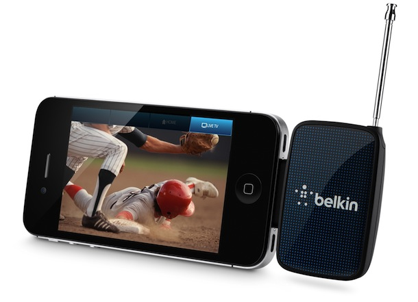 Belkin Mobile TV Receiver with iPhone 4S