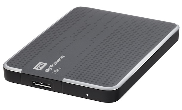 WD My Passport Ultra Portable Hard Drive - Titanium