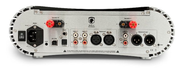 Gato Audio DIA-250 Integrated Amplifier - back