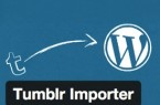 Wordpress Tumblr Importer