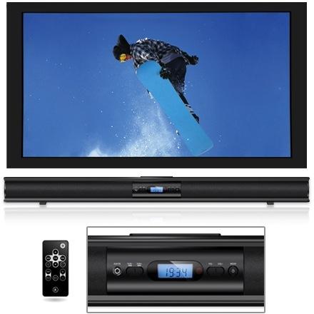 Innovative Technology ITSB-201-37 Stereo Soundbar