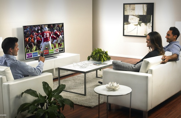 VIZIO M-Series Razor LED Smart TV - lifestyle