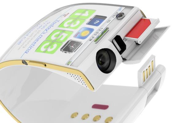 Emopulse Smile Bracelet Smartphone - white top