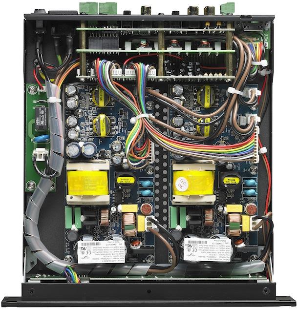 Parasound Zamp Quattro Four Channel Amplifier - inside