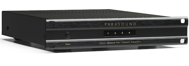 Parasound Zamp Quattro Four Channel Amplifier