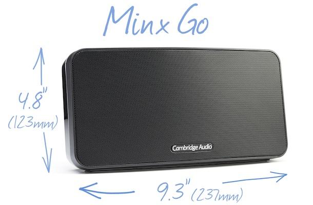Cambridge Audio Minx Go - Measurements