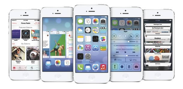 Apple iPhone with iOS7