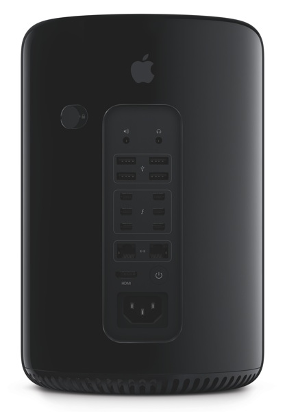 Apple Mac Pro 2013 - back