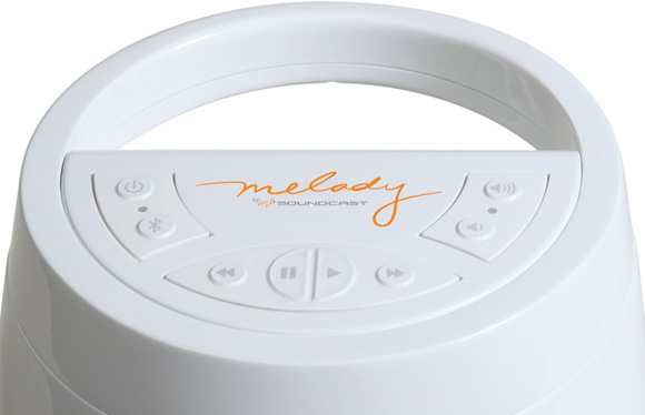 Soundcast Melody Bluetooth Speaker - top