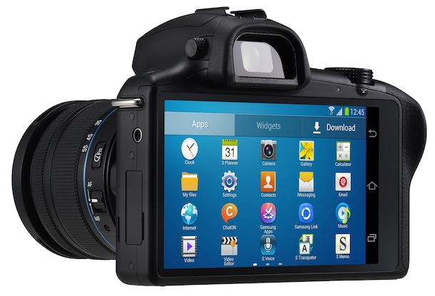 SAMSUNG GALAXY NX - back