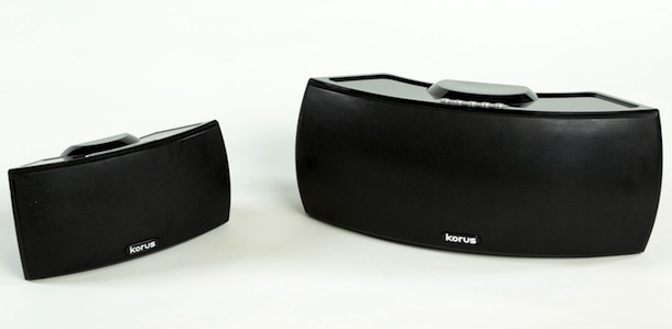 Korus V400 and V600 wireless speakers