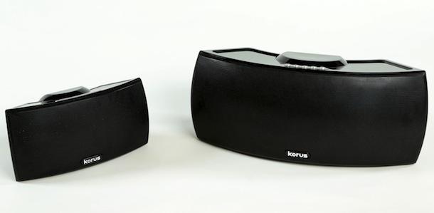 Korus V400 and V600 wireless speakers