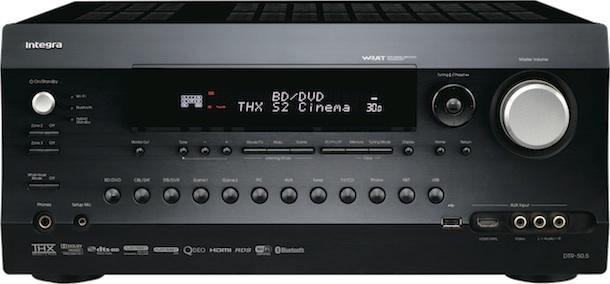 Integra DTR-50.5 A/V Receiver - front