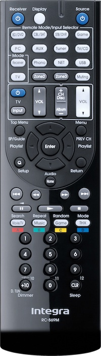 Integra RC-869M Remote for DTR-40.5